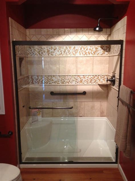 Shower Tub Ideas by Small Bathroom Makeovers Taking Out The Tub