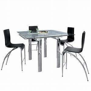 Table Haute En Verre : table haute verre trempe ~ Teatrodelosmanantiales.com Idées de Décoration
