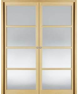 Porte A Galandage Double : double porte coulissante vitree maison design ~ Premium-room.com Idées de Décoration