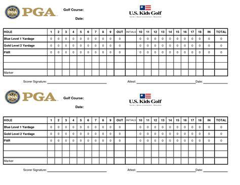golf scorecard template best photos of scorecard template excel project management scorecard template balanced