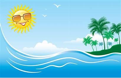 Summer Clipart Backgrounds Clip Clipartix