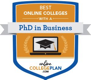 top   colleges    phd  business