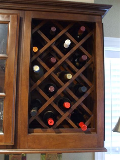 how to build a wine cabinet how to build a wine rack in a kitchen cabinet plans diy