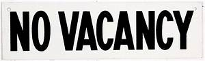 Vacancy/No Vacancy Sign, C 1960 Omero Home