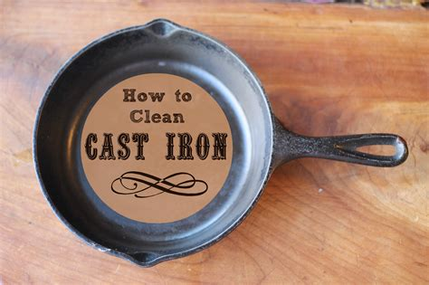 how to clean iron how to clean cast iron a ranch mom