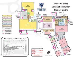 lancelot thompson student union  campus maps