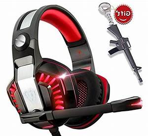 Gaming Headset For Xbox One Ps4 Pc Laptop Tablet With Mic Pro