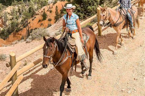 riding horseback canyon bryce tour adventures ruby horse