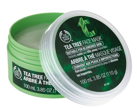 Body Shop Tea Tree Face Mask Review