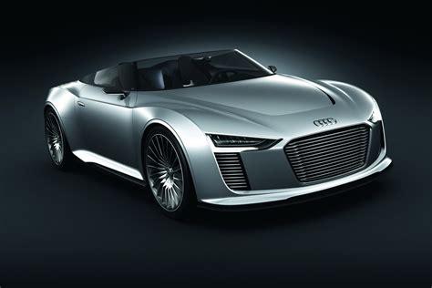 Paris Show Audi E Tron Spyder Concept Puts Porsches