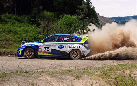 Subaru Rally Car Wallpaper