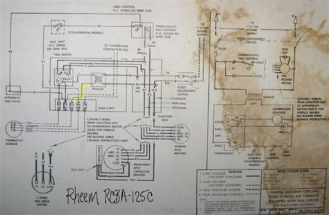 rheem furnace diagram 28 images rheem hvac wiring
