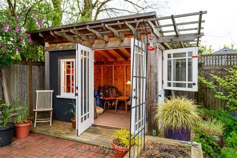 backyard outbuildings stylish garden sheds seattle met