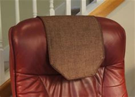 leather sofa headrest covers 1000 images about headrest covers on recliner