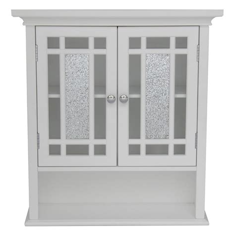 Bathroom Cabinets Wall by Home White Bathroom Wall Cabinet With 2