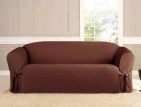 sofa covers micro suede slipcover sofa loveseat chair furniture cover brown black taupe ebay