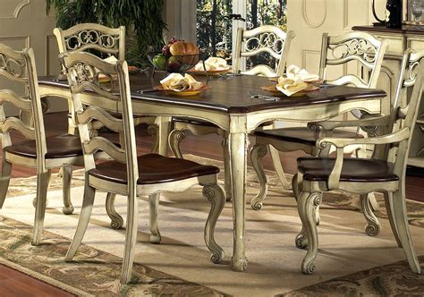 Country Style Kitchens Ideas - french kitchen table and chairs home design
