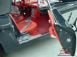 1958 Corvette Charcoal Interior
