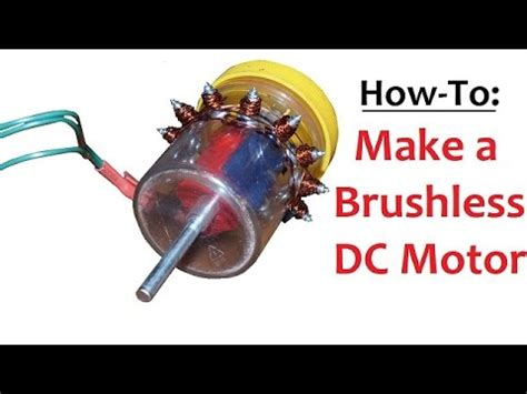 Brushless Dc Motor by How To Make A Brushless Dc Motor Inrunner