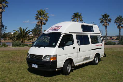 Toyota Hiace Hi Top Campervans Te Koop Travellers Autobarn