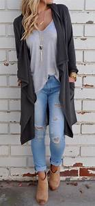200+ Cute Ripped Jeans Outfits For Winter 2017 | My Cute ...