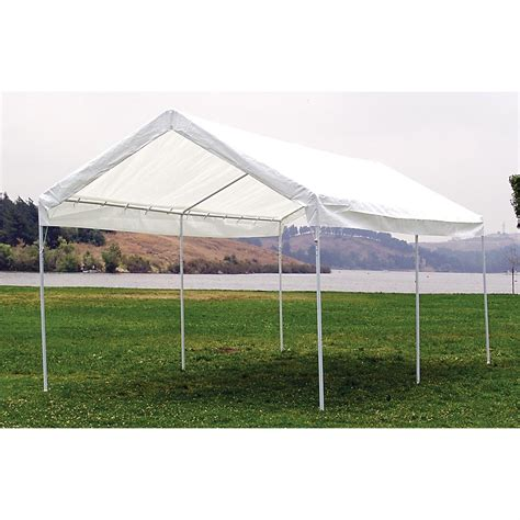 mac sportsx canopy carport  screens canopies  sportsmans guide