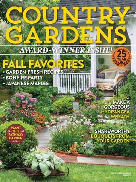 Garden Magazine by Country Gardens Magazine Discountmags