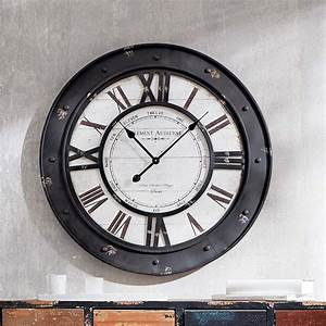 Wanduhr Vintage Metall : wanduhr vintage vintage uhr wanduhr gross wanduhr ~ A.2002-acura-tl-radio.info Haus und Dekorationen