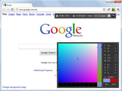 chrome extension color picker i allow you color picker plugin chrome