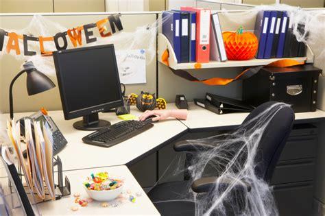 wear  halloween costume  work