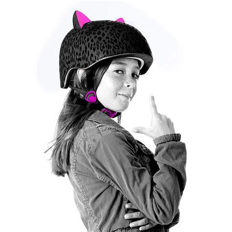 Fahrrad Für Mädchen 3409 krash leopard 3d schutzhelm fahrrad skate kinder