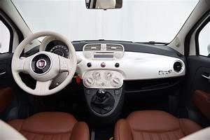 Fiat 500 Interieur : fiat 500 cabriolet lounge ~ Gottalentnigeria.com Avis de Voitures