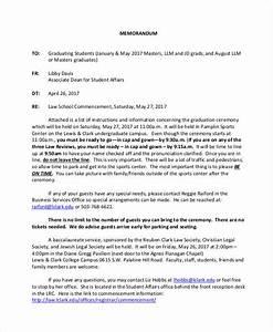 Examples Of Memorandum Free 8 Student Memo Examples Samples In Pdf Word