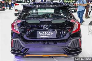 Bangkok 2017: Honda Civic Hatchback with Modulo kit Image ...