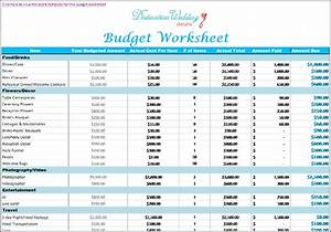 good wedding budget spreadsheet 2016 With good wedding budget
