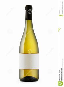 bottle of white wine stock photography cartoondealercom With generic wine labels