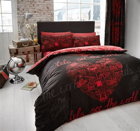 Beautiful Bed Cover Sets by Beautiful Printed Duvet Quilt Cover Pillowcase Bedding
