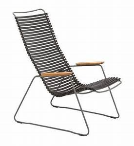 Fauteuil Haut Dossier : fauteuil bas click lounge dossier haut noir houe ~ Teatrodelosmanantiales.com Idées de Décoration
