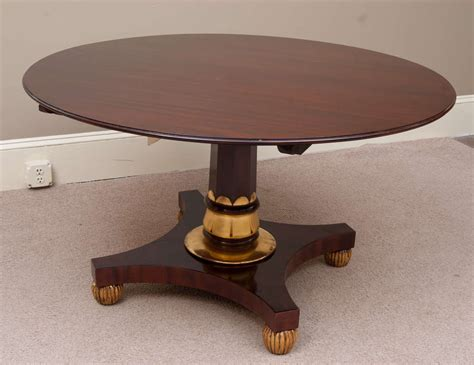 yoyo centre table dining table regency dining and center table at 1stdibs