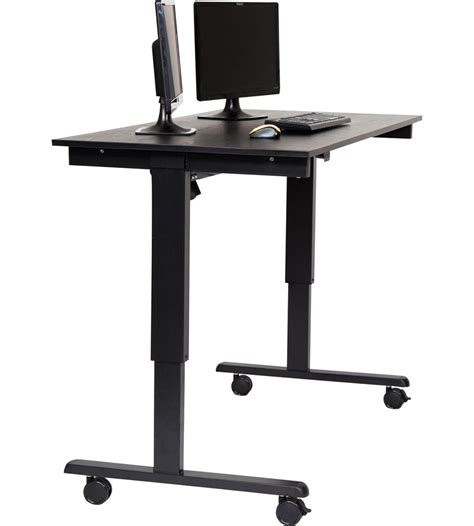 Motorized Standing Desk by Motorized Standing Desk In Computer And Laptop Carts