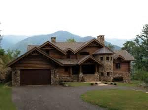 North Carolina Mountain Log Home