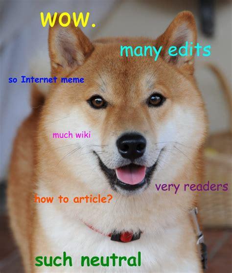 Doge meme Dogecoin - Bitcoinsaltcoins.nl