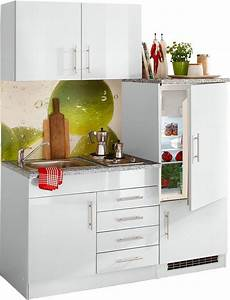 Küche Auf Rechnung : single k che toledo breite 160 cm online kaufen otto ~ Watch28wear.com Haus und Dekorationen