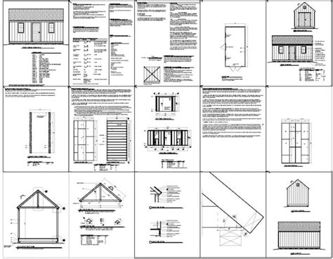 Free 10x20 Shed Plans Pdf by Shed Plans 10 X 20 My Shed Plans Review What Wood