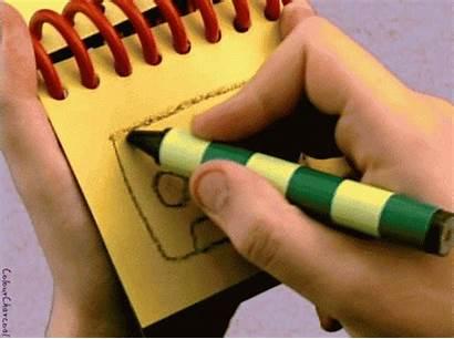 Clues Blues Notebook Handy Dandy Nick Crayon
