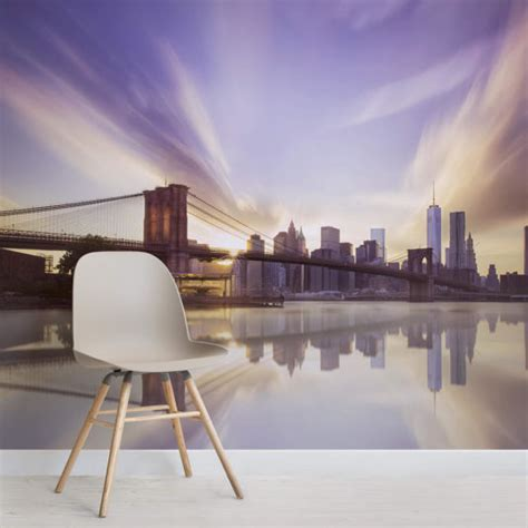 city skyline wallpaper cityscape wall murals