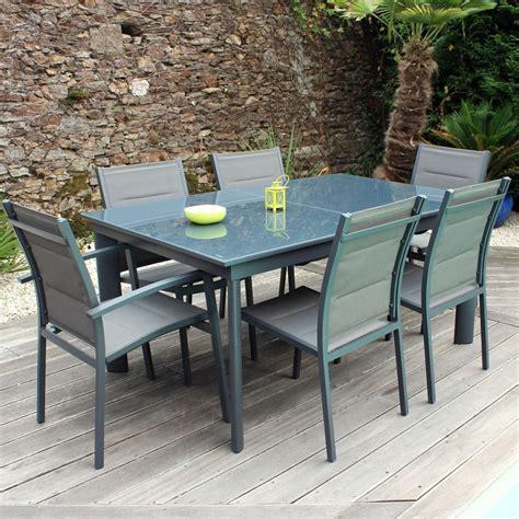 ensemble table et chaise de jardin pas cher