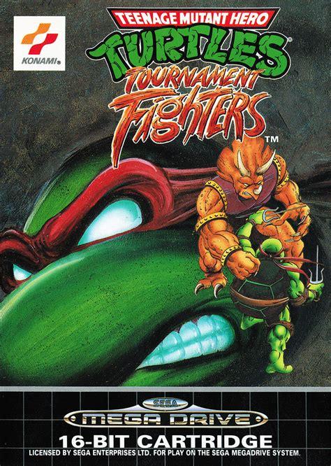 teenage mutant ninja turtles tournament fighters details