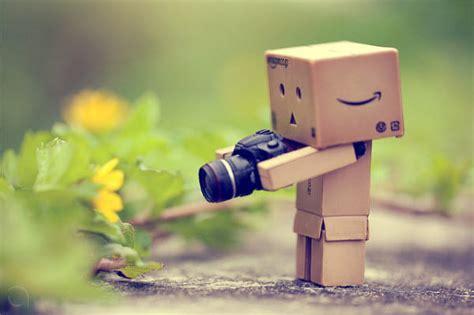 adorable photographs  danbo cardboard robot hongkiat