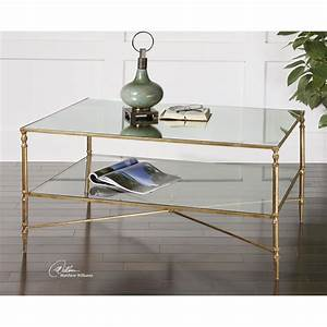 uttermost gold henzler coffee table on sale With henzler coffee table